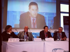 """Opening of the """"Internet Governance Structures"""" panel at the Global Economic Symposium. Photo by Alexey Sidorenko"""