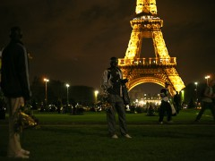 Migrants from Sub-Saharan Africa in Paris (September 2011). Photo by Alexey Sidorenko