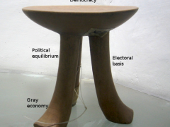 Democracy in Bulgaria: the unexisting stool with 2.17 legs