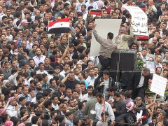 Syria Damascus Douma Protests 2011 - 26. Photo by Flickr-user syriana2011