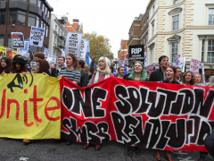 Education Protests in London