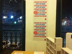Favela City Exchange exhibit at Studio-X Rio