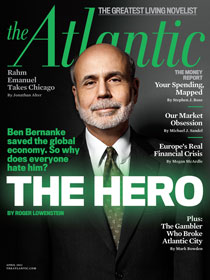 Ben Bernake at The Atlantic cover
