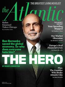 Ben Bernake at The Atlantic cover