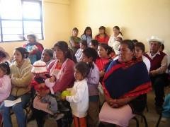 A rural school in a Mazahua community in the Estado de México.