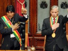 Toma de posesión del Presidente Evo Morales en Bolivia