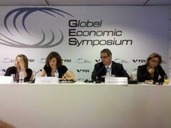 Designing Intelligent Labour Migration Policies Panel at GES 2012 | Photo by the author