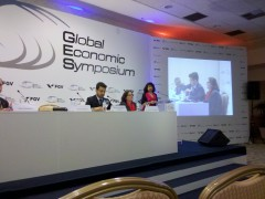 Implementing Board Diversity Panel on GES 2012. Photo by the author