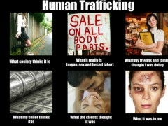 The Ratiu Center for Democracy (Romania) is making great efforts to campaign against human trafficking.