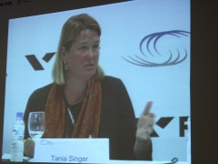 Tania Singer Neurocientiste discuss the efects of the practicess on the development of the brain