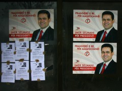 Imer Selmani running for elections in Macedonia
