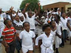 Peace March in South Africa