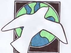 Peace has to be global - Photo by Mike Kline on Flickr (CC BY 2.0)