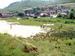 A Roma settlement in the Sarisska region