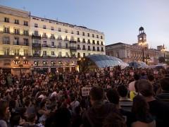 manifestación en puerta del sol madrid