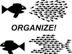 Don't panic: organize! Image in the public domain