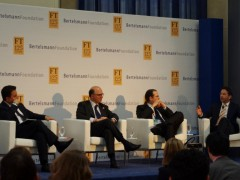 Financial ministers at the Bertelsmann Foundation - Financial Times Conference