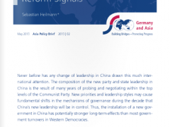 Asia Policy Brief: Chinas New Government