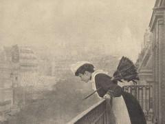 Empleada doméstica. Foto de Constant Puyo, 1906. Dominio público.