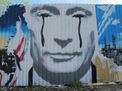 Putin's Tears in Oil, in Perm, Russia by Flickr user Cea. under CC licence