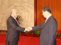 Fiji PM meets Chinese President