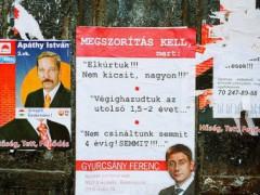 austerity placard hungary