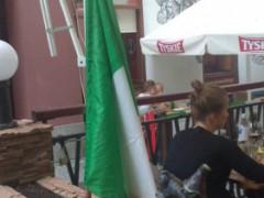 Italian symbol of the presence in the city