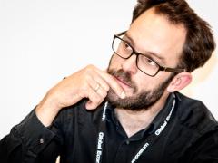 Daniel Domscheit-Berg at the 2013 Global Economic Symposium in Kiel, Geramny. Photo Credit: Henrik Herzberg