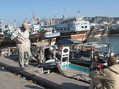 A view of Gwadar fish harbor - Photo by Moign Khwaja on Flickr (CC BY-NC 2.0)