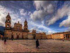 Bolivar Square in Bogota