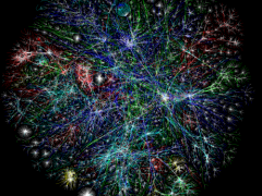 Opte Map of the Internet. Licensed under a Creative Commons Attribution-NonCommercial 4.0 International License.