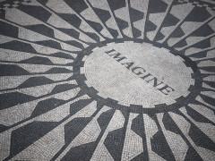 John Lennon Imagine Strawberry Fields Memorial - Central Park